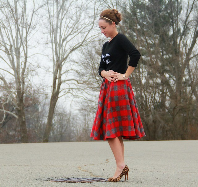 modest-plaid-midi-skirt-design