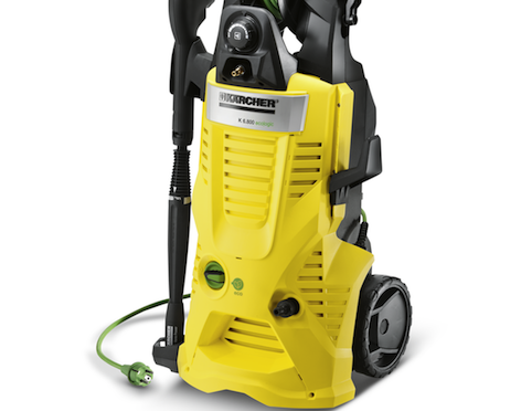 The K 6.800 eco!ogic model cuts the time it takes to clean flat surfaces