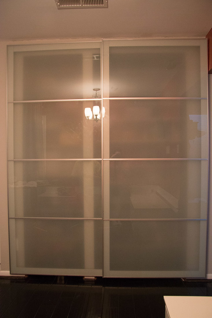 ikea pax doors as sliding closet doors