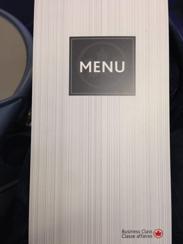 Menu Front Cover