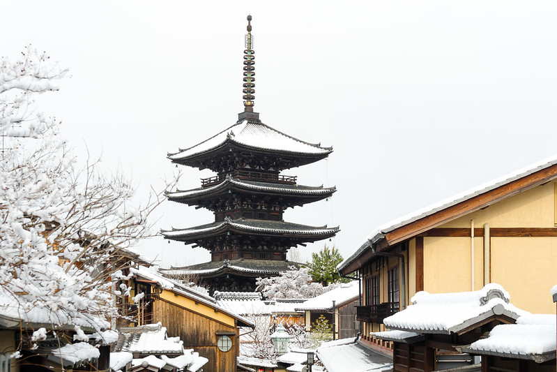 REC vol.062 - 雪の八坂の塔 / Yasaka Tower in Winter