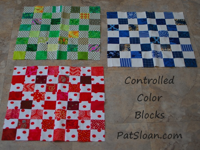 Pat Sloan hip to be square controlled colors pic 2