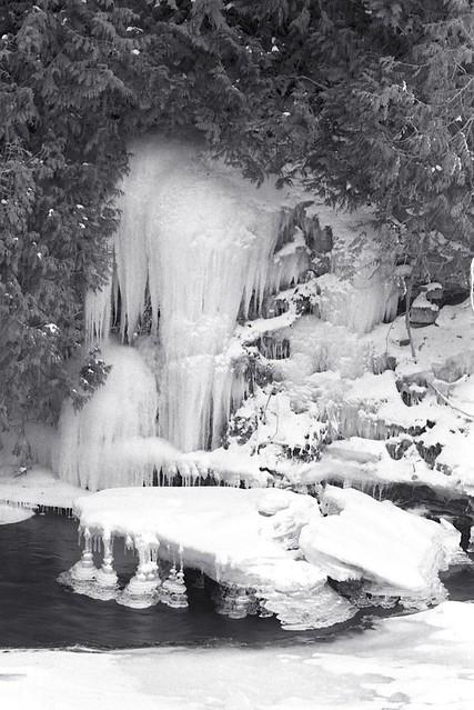 Hanging Ice
