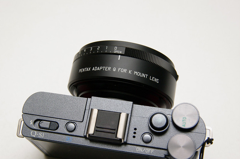PENTAX ADAPTER Q FOR K MOUNT LENS  (原廠轉接環)