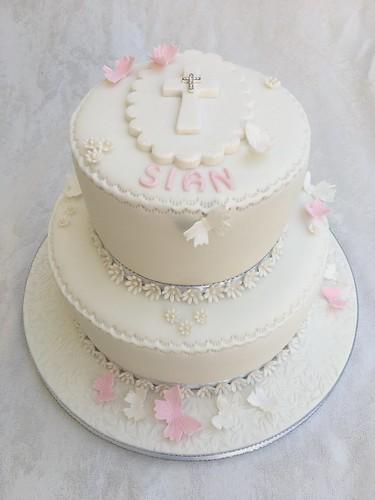 First Holy Communion Cakes Bracknell Fleet Green Bonnett Cake