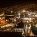Noche porteña_Valparaíso_Chile by transhumante