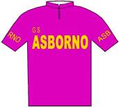 Asborno - Giro d'Italia 1957