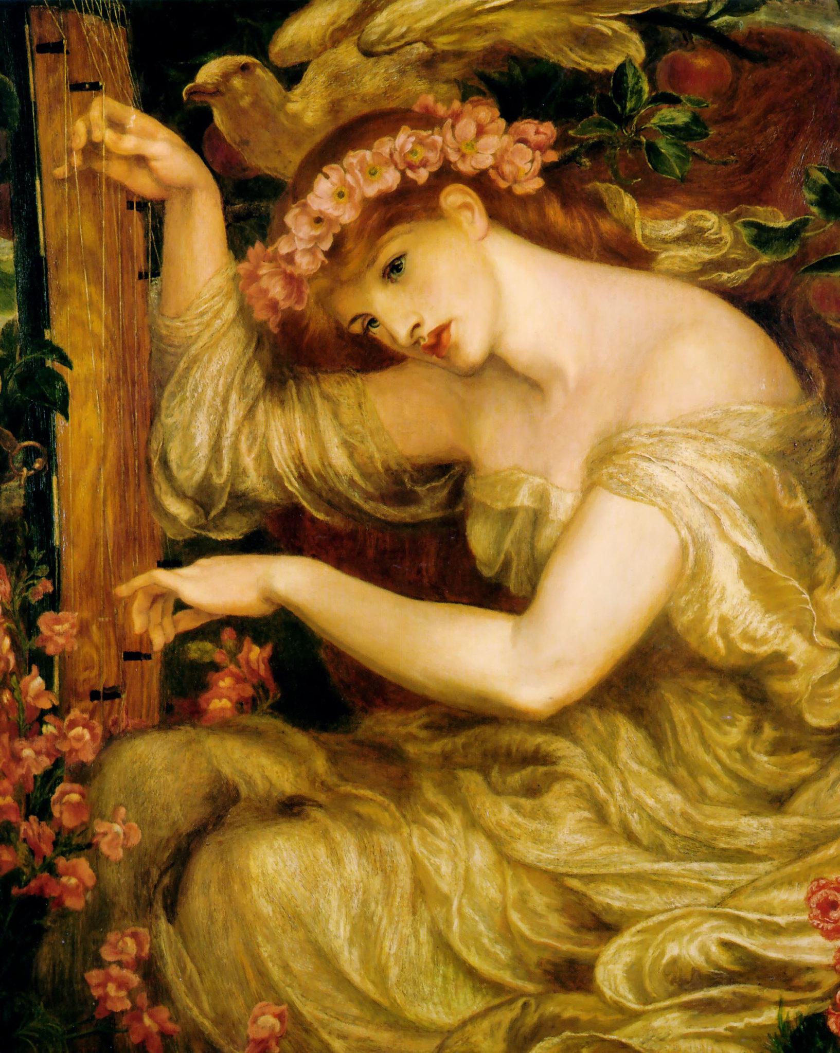 A Sea-Spell by Dante Gabriel Rossetti, 1877