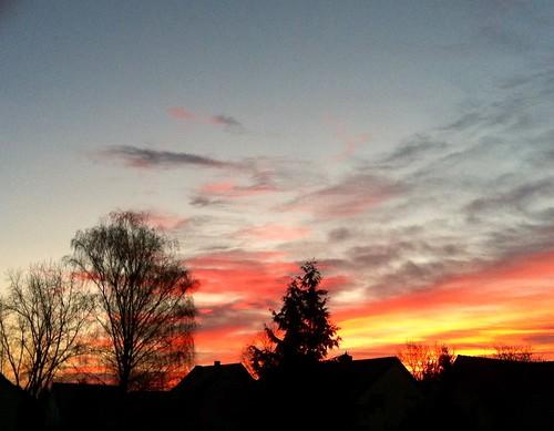 cloud sunrise heaven himmel wolken sonnenaufgang