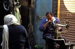 Ägypten 1999 (225) Im Souk von Luxor