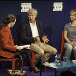 Bee Rowlatt & Jean-Christophe Rufin | Journalist Bee Rowlatt and French diplomat Jean-Christophe Rufin come together to discuss their books © Robin Mair