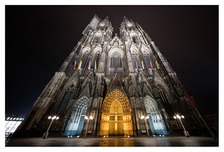 Cologne Cathedral by night | by leo.roos