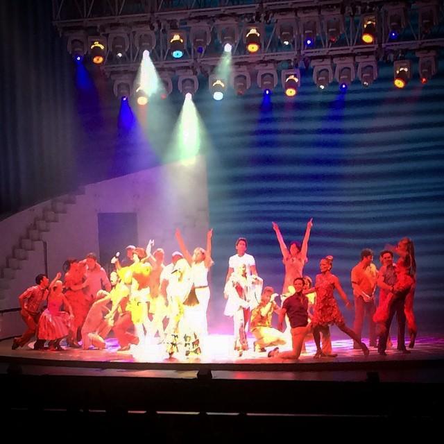 MAMMA MIA! Gala Premiere at MasterCard Theatres, Marina Bay Sands - Alvinology