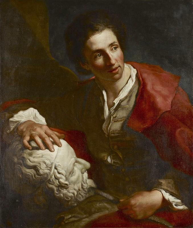 Louis-Gabriel Blanchet - Presumed portrait of Edme Bouchardon (c.1728-1732)