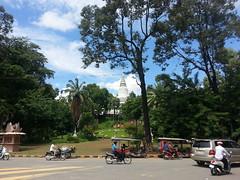 Wat Phnom fuera