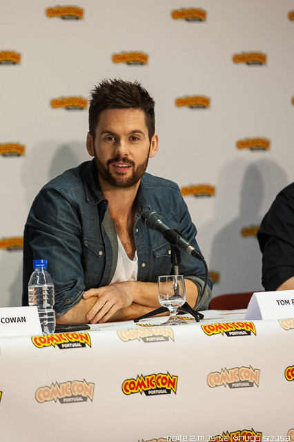 Tom Riley (Da Vinci's Demons) - Comic Con Portugal '14