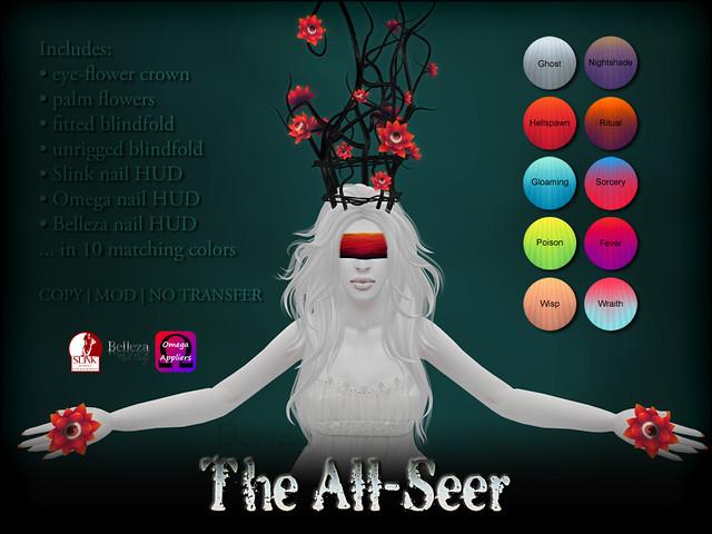 Devae. Frills/The All-SeeDevae. Eyes/Wild Hunt GACHAr set