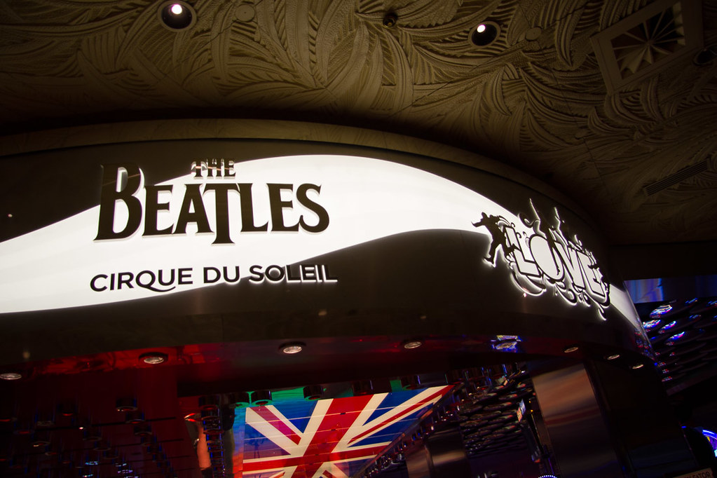 Beatles Love Cirque du Soleil show