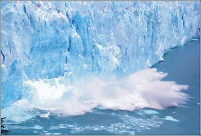 ग्लोबल वार्मिंग का धरती पर प्रभाव_ग्लेशियर
