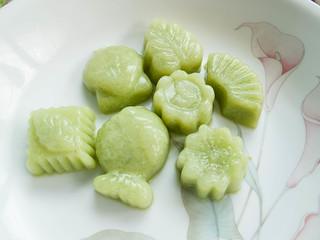 065 斑兰燕菜 - Pandan agar-agar