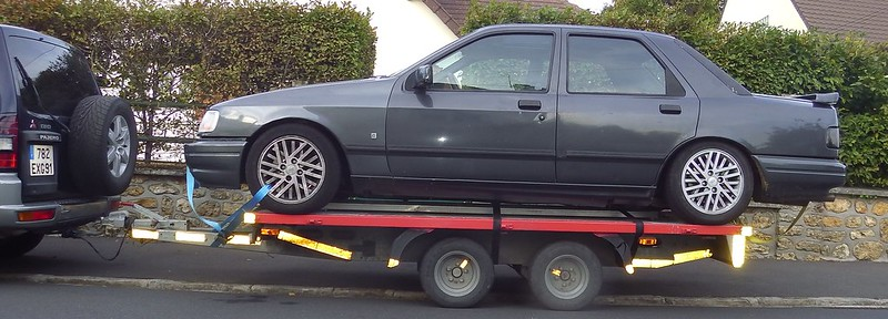 Transport d'une Ford Sierra 15556589889_98d96bfd73_c