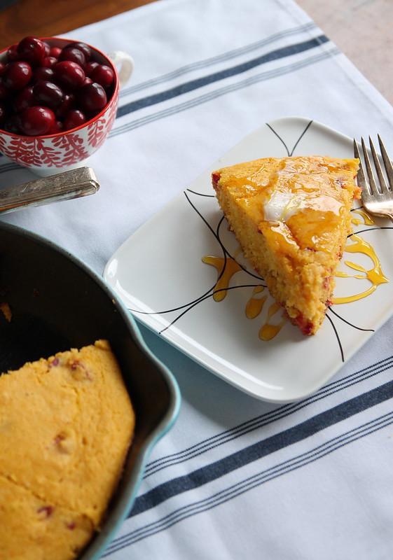 Cranberry Pumpkin Cornbread
