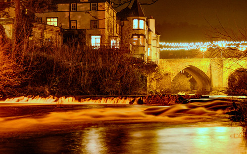 uk longexposure wales night river nikon view nightime vista viewpoint llangollen riverdee d7100 littlewaterfalls nikonafsdxzoomnikkor1855mmf3556gedii
