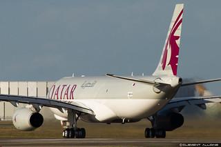 Qatar Airways Cargo Airbus A330-243F cn 1584 F-WWKM // A7-AFG