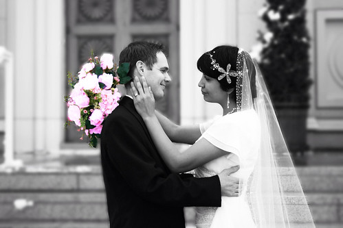 My husband and I 7 years ago on our wedding day