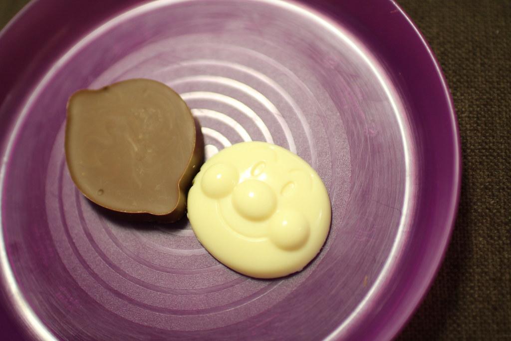くるくるチョコレート工場_余ったチョコで