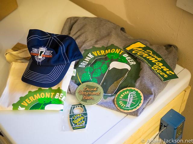 Vermont Beer Passport Schwag Bag of Goodies
