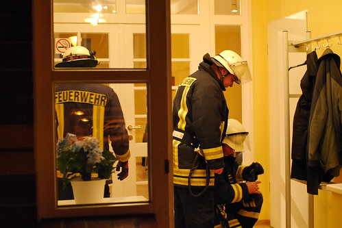 Einsatzübung Freiwillige Feuerwehr Ragow #5