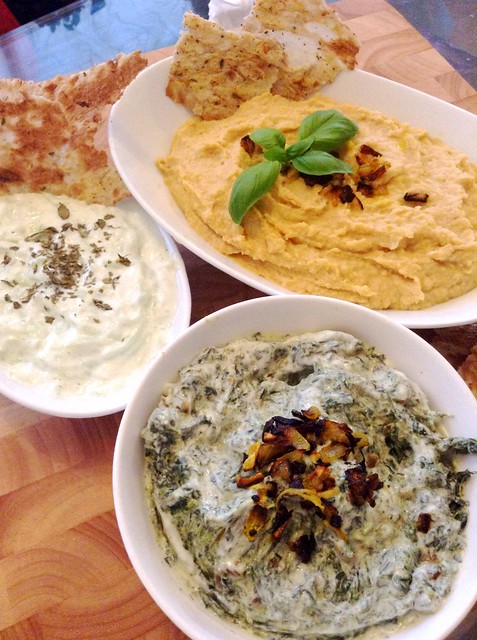 Three easy healthy dips to impress #easydips