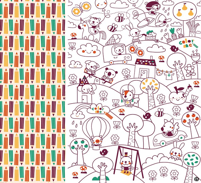 Color me - giftwrap
