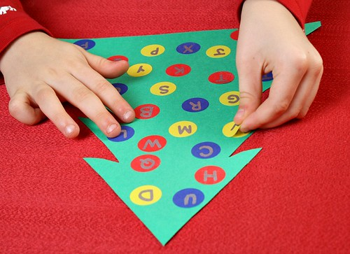 Letter Matching Christmas Tree (Photo from Fantastic Fun and Learning)