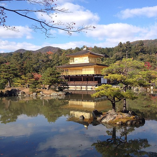 Kyoto - Kinkakuji Temple (Golden Pavillion)
