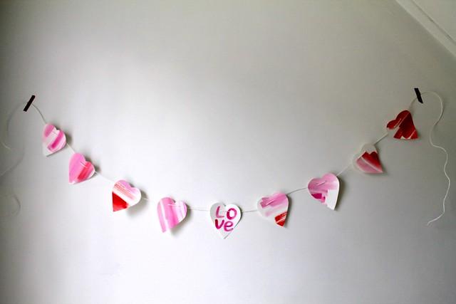 Valentine's Day Banner {diy}
