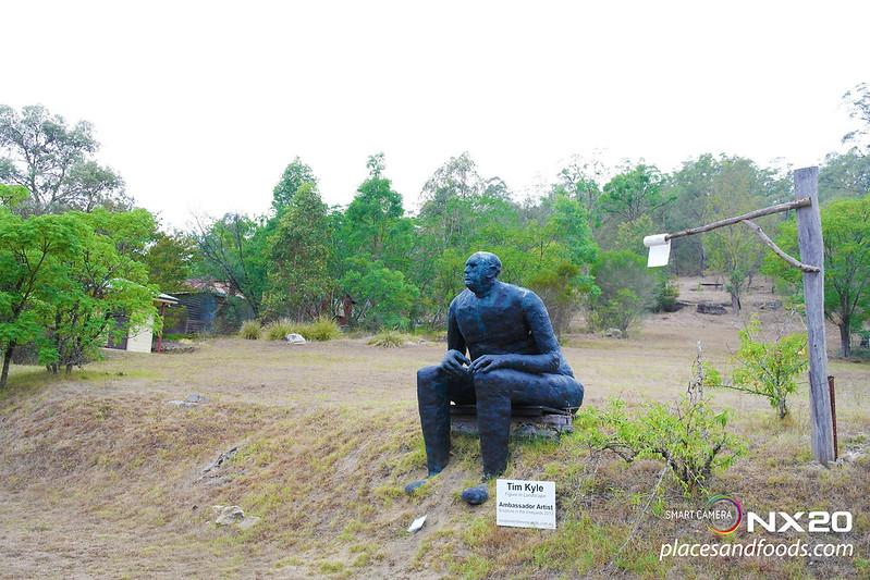 hunter valley Convict trail  sculpture