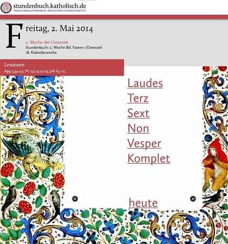 Stundenbuch deutsch online