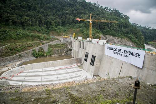 Inicia el llenado del embalse del proyecto hidroeléctrico Manduriacu