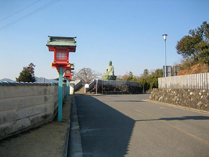 成田山の新生大仏