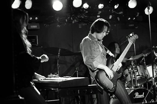 Tangerine live at Outbreak, Tokyo, 21 Nov 2014. 261