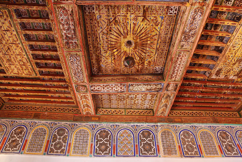 Kasbah Taourirt ceiling
