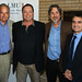 LMU School of Film & Television posted a photo:	Dean Ujlaki (left) with the Farrelly brothers (center) and Stephen Galloway (right).
