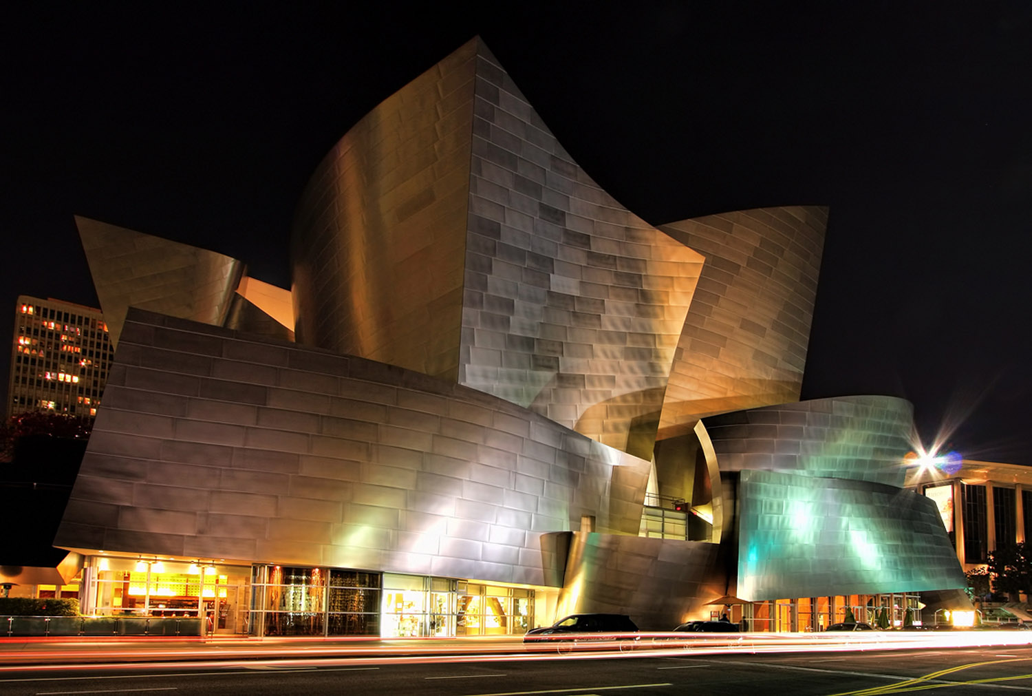 Walt Disney Concert Hall design by Frank Gehry
