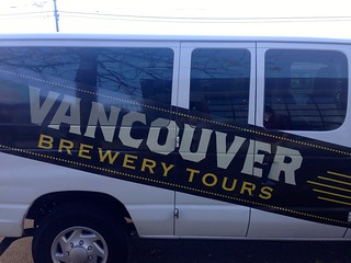 Vancouver Brewery Tour Van