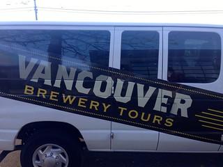 Vancouver Brewery Tour Van