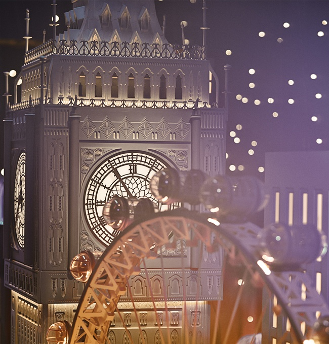 "3 _The Magical Christmas Journey by Burberry"" – Making of the Windows"