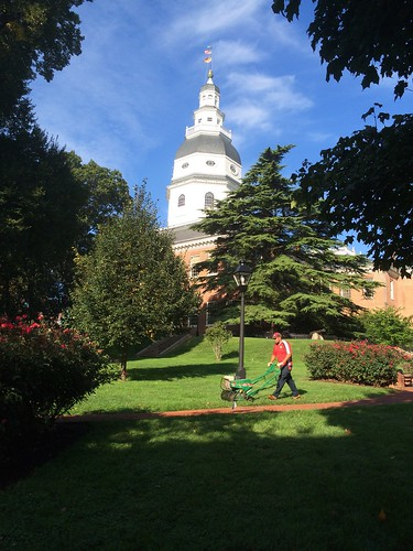 The State House's organically landscaped grounds. Photo Credit: KW Landscaping