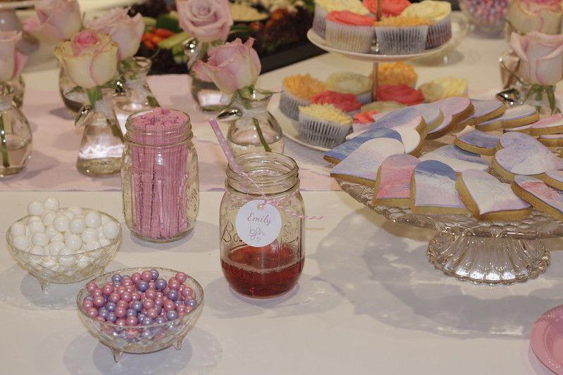 Sweet buffet at the store launch